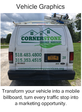Vehicle Graphics, vehicle mobile billboard, marketing opportunity