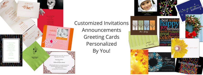 Commercial press local printing copying in canton potsdam cards announcements invitations stationery every occasion m4hsunfo